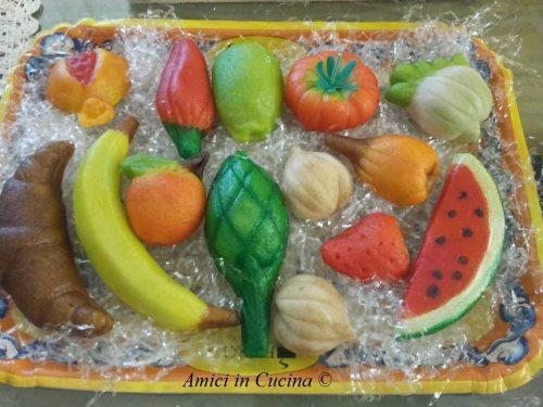 Frutta di martorana della mamma – Teresa A.
