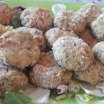 Polpette di quinoa e zucchine al forno con ripieno di stracchino – Vanessa C.