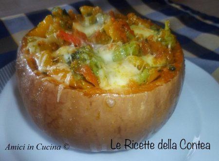 Zucca ripiena di verdure – Corrado L.