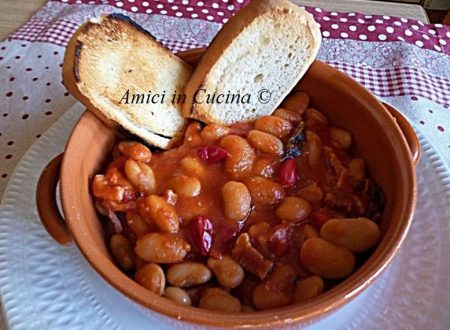 Fagioli, pomodoro, pancetta e peperoncino – Ignazia D.