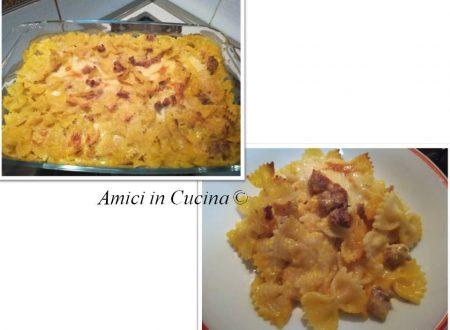Pasta al forno con zucca, salsiccia e provola – Rita D.