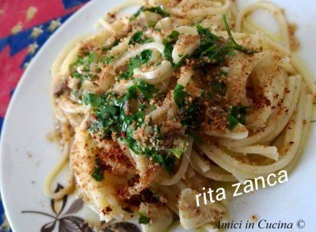 Spaghetti aglio,olio,peperoncino e mollica abbrustolita (atturrata) – Rita Z.