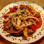 Straccetti di pollo con melanzane e peperoni -  Eleonora F.