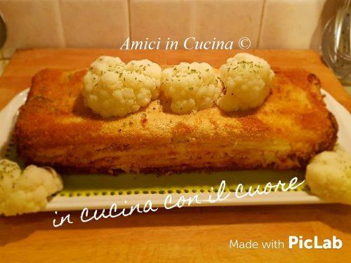 Plumcake salato con cavolfiore scamorza e acciughe – Eleonora Fabrizi
