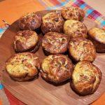 Muffin al salmone con finocchietto selvatico e zucchine  - Sabrina Albini