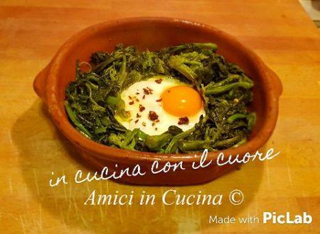 Occhio di bue con broccoletti – Eleonora Fabrizi