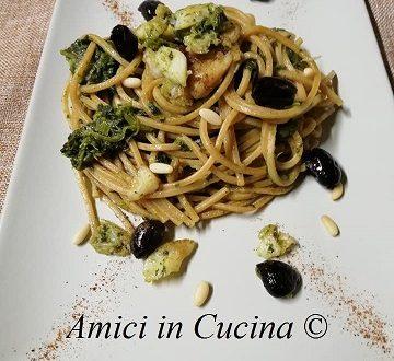 Spaghettoni integrali con baccalà e broccoli – Amerigo Morgia