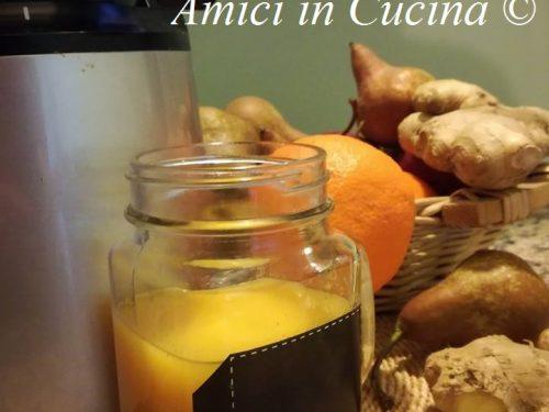 Estratto di arance, pere e zenzero – Cristina Smeraldi