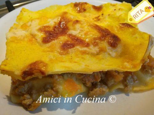 La mia lasagna di zucca veloce – Rita Di Somma