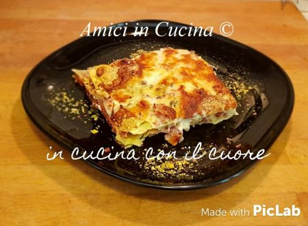 Lasagna con mortadella, pistacchio e scamorza – Eleonora Fabrizi