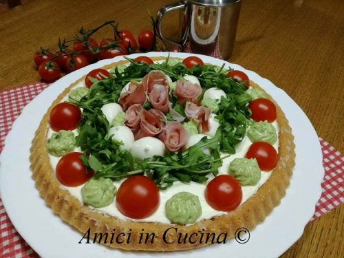 Crostata salata morbida – Ketty Laviano