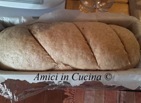 Pane integrale in cassetta – Bimby – Teresa Alfano