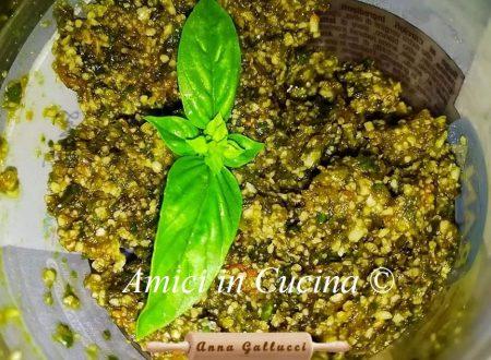 Pesto ai fiori di zucca – Anna Gallucci