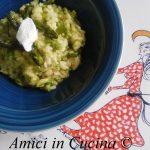 Riso Asparagi, Zucchine e Formaggio Spalmabile - Alessia La Posta