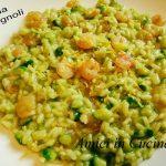 Risotto gamberetti, zucchine e limone grattugiato - Ivana Romagnoli
