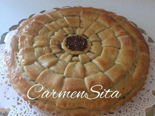 Torta salata ripiena di ricotta e spinaci – Carmen Sita – Video