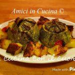 Zucchine tonde con orzo perlato alla pizzaiola - Eleonora Fabrizi