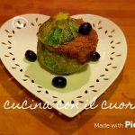 Zucchine tonde imbottite - Eleonora Fabrizi