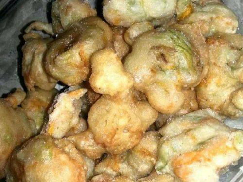 Fiori di zucca fritti – Anna Gallucci