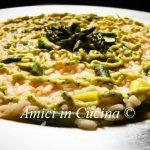 Risotto agli asparagi con crema di zucchine - Simone D'aniello