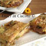 Parmigiana Bianca con zucchine e salsiccia - senza frittura