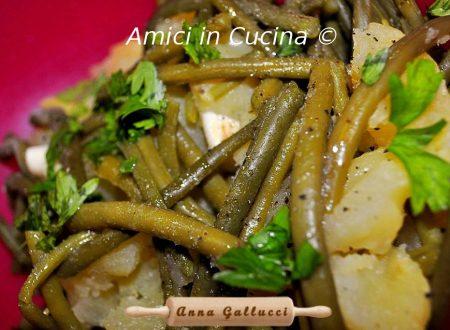 Insalata di patate e fagiolini verdi