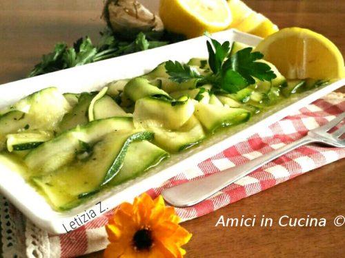 Ricette dei piatti con le Zucchine