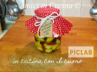 Cipolline piccanti ed olive sott'olio