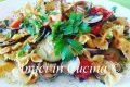 Farfalle vongole, zucchine e pomodorini