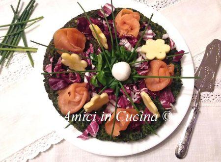 Frittata con gli spinaci