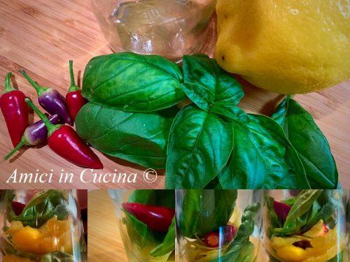Olio extravergine d'oliva aromatizzato al limone