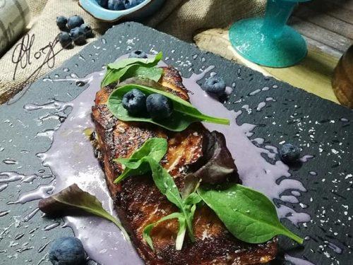 Salmone grigliato al cocco