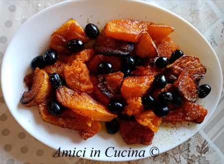 Zucca gialla all'agrodolce
