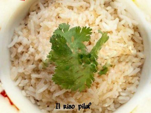 Il riso pilaf