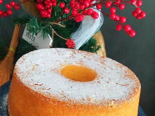 Chiffon cake arancia e cannella