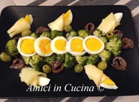 Insalata di Broccoli olive ed uova