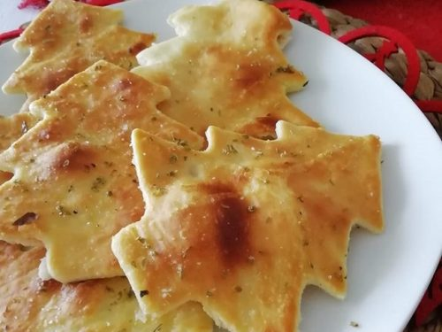 Alberelli di pane pizza