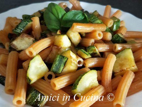 Pasta di lenticchie e zucchine