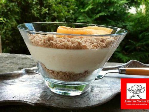 Mousse ricotta melone e yogurt