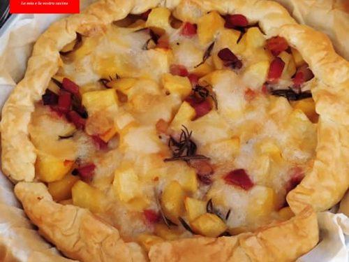 Pizza rustica speck e patate