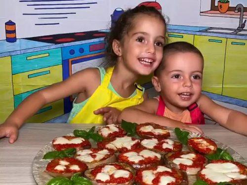 Pizzette di Melanzane – Video