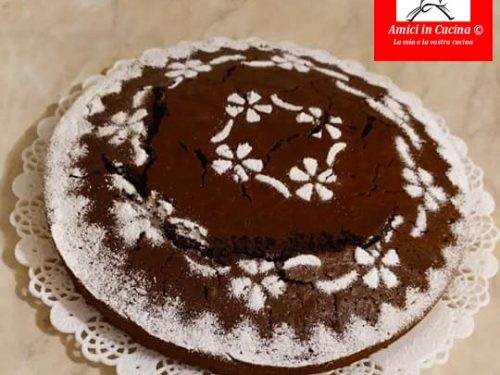 Torta aranciae cioccolato