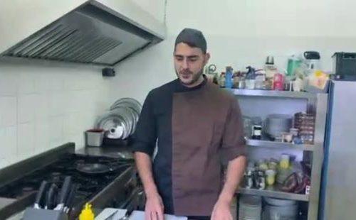 Tortino cacio pere noci e guanciale croccante – Video