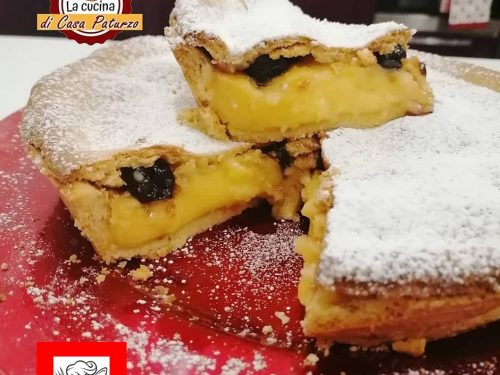 Crostata crema e amarene – Video