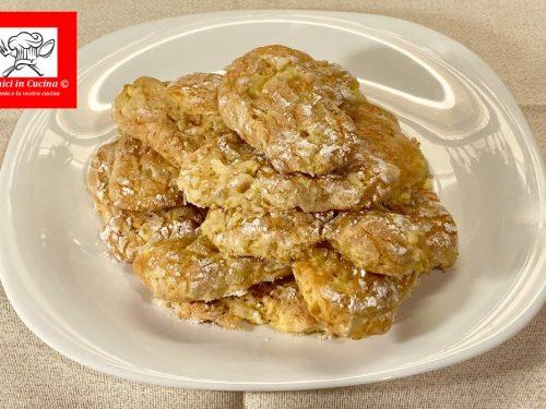 Biscotti alla mela senza burro