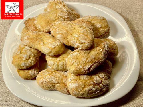 Biscotti all'arancia senza burro