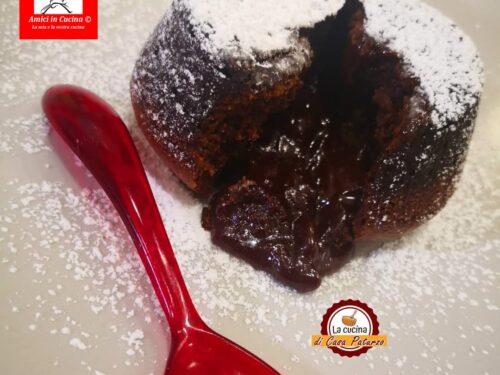 Tortino cioccolato fondente e peperoncino