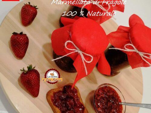 Marmellata di fragole 100% naturale  – video