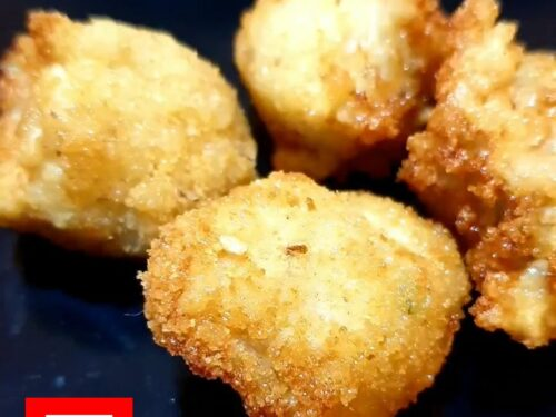 Nuggets di pollo fritti – video