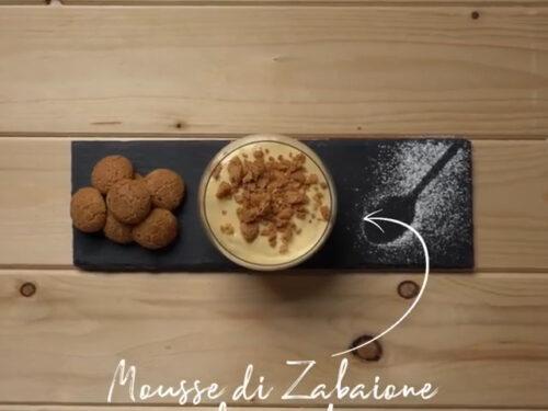 Mousse di zabaione al Passito di Pantelleria – video